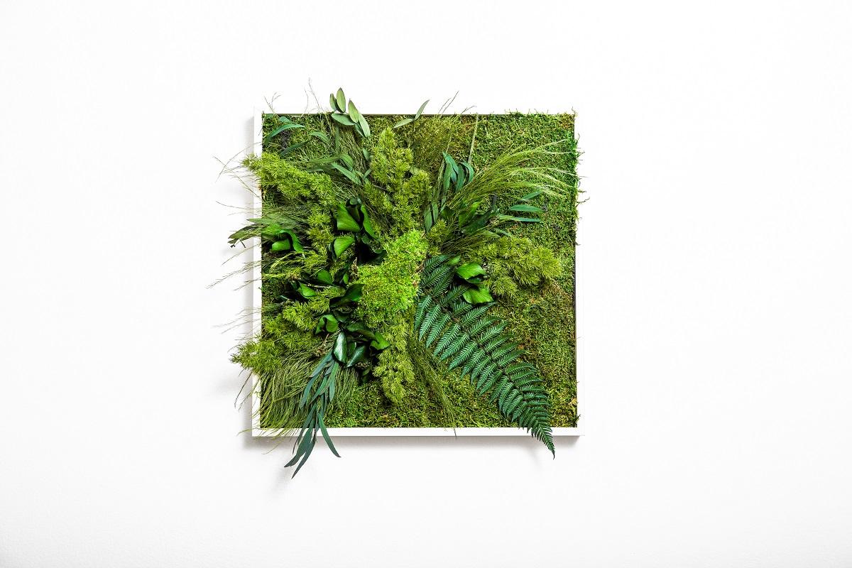 GREENIN leafy | 40x40 cm